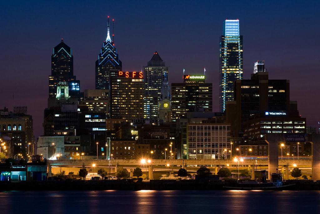 Philadelphia Skyline Philadelphia Skyline Taken From