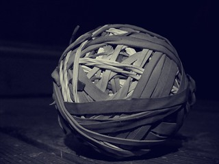 14/30 || Rubber Band Ball | by Hev-Ding