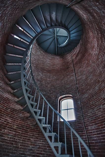 Portsmouth lighthouse interior hdr flickr photo sharing for Light house interior
