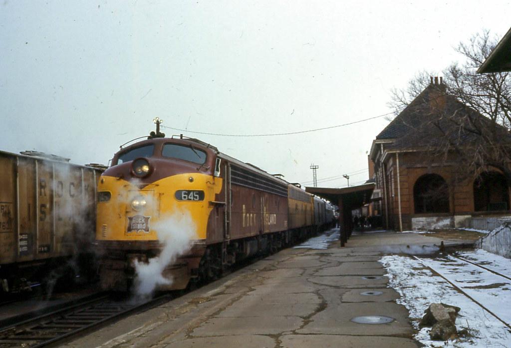 The Rock Island Railroad