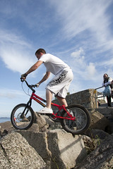 Biketrials in Falmouth | by DanielOliver