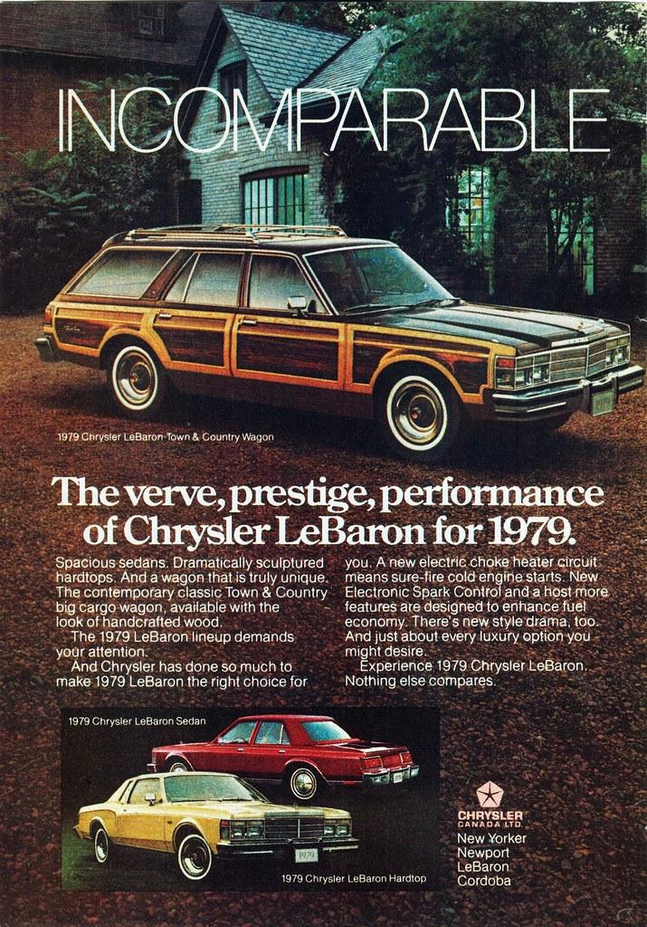 1979 Chrysler Lebaron Town Amp Country Ad Alden Jewell