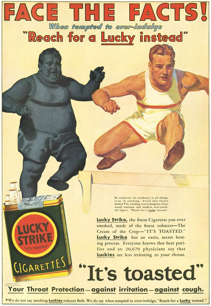 Image result for lucky strike ads