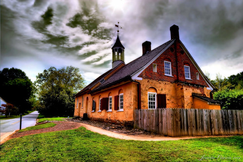The 1788 Gemeinhaus in Historic Bethabara Park | by Jeanette Runyon