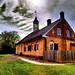 The 1788 Gemeinhaus in Historic Bethabara Park