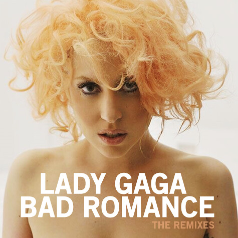 lady gaga bad romance the remixes ep cover | Hause Of Mr ...