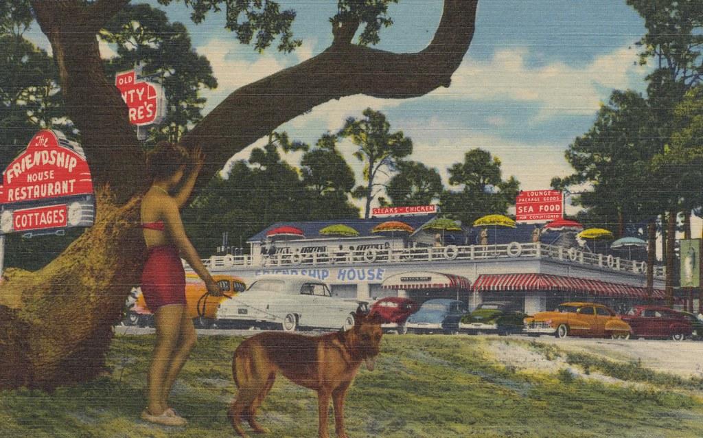 The Friendship House Restaurant and Cottages - Mississippi City, Mississippi