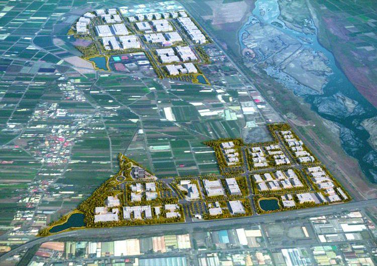 和發產業園區包括和春與大發兩塊基地。(圖/高市府經發局 提供)