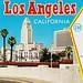 Los Angeles postcard folder