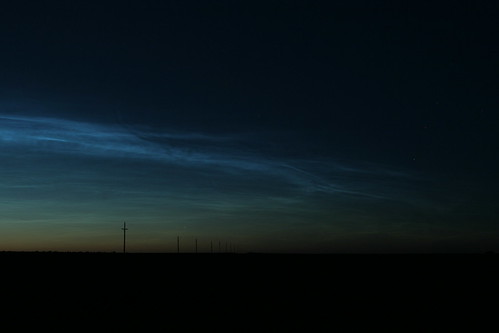 noctilucent clouds from Lind, WA | by couleewinds
