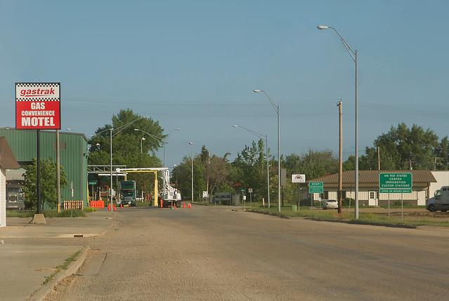 Portal Nd Border Crossing Here In Portal North Dakota