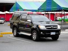 Mrta eod toyota hilux vigo belonging to the bangkok for Subway vigo