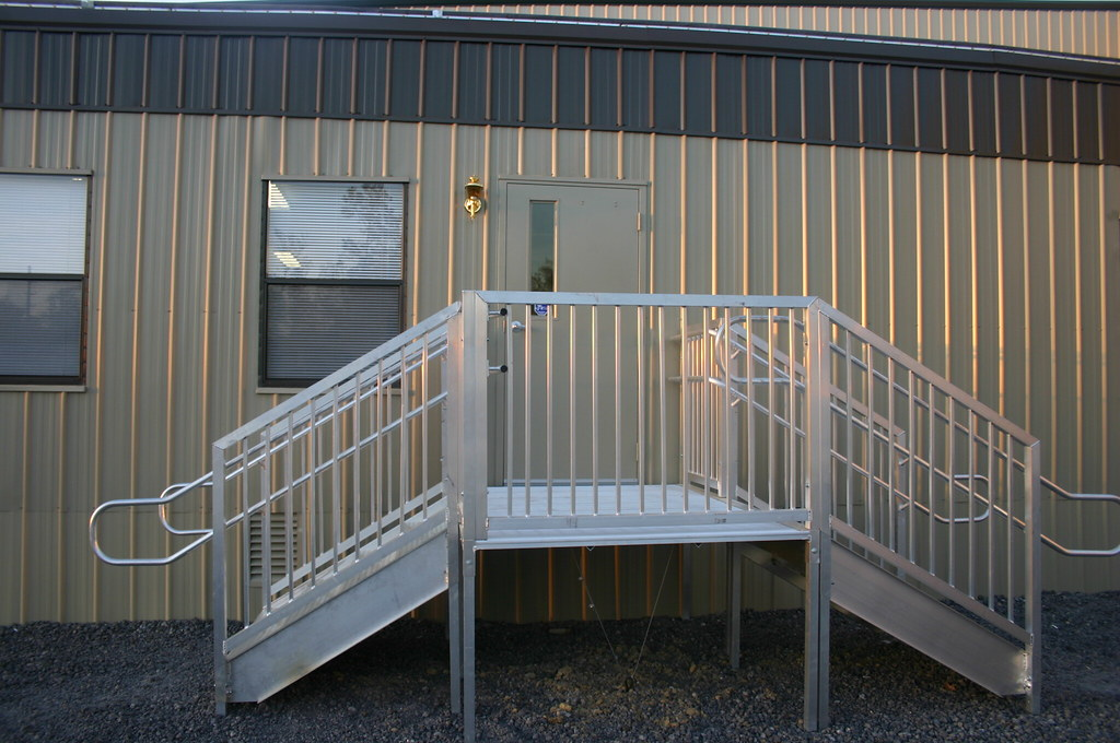 Modular Building Steps Decks And Ramps