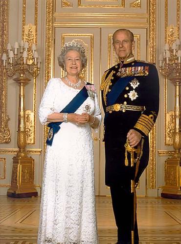Reina Isabel II y Príncipe Felipe   Foto oficial de la ... Felipe