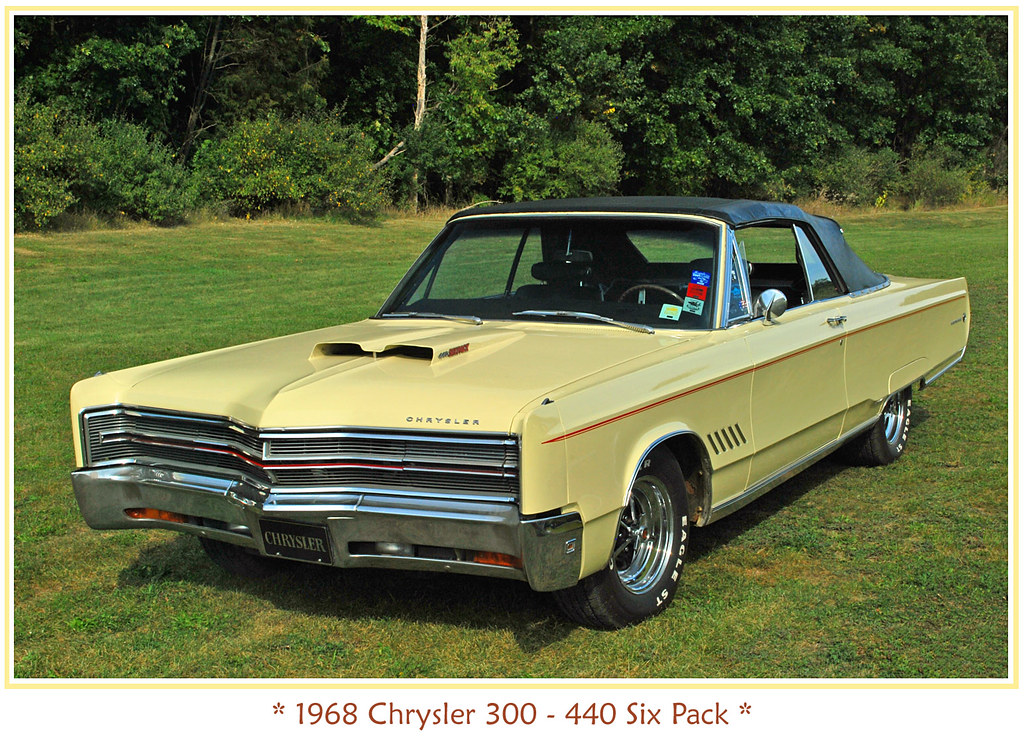 1968 chrysler 300 the september 20 2009 baker 39 s. Black Bedroom Furniture Sets. Home Design Ideas
