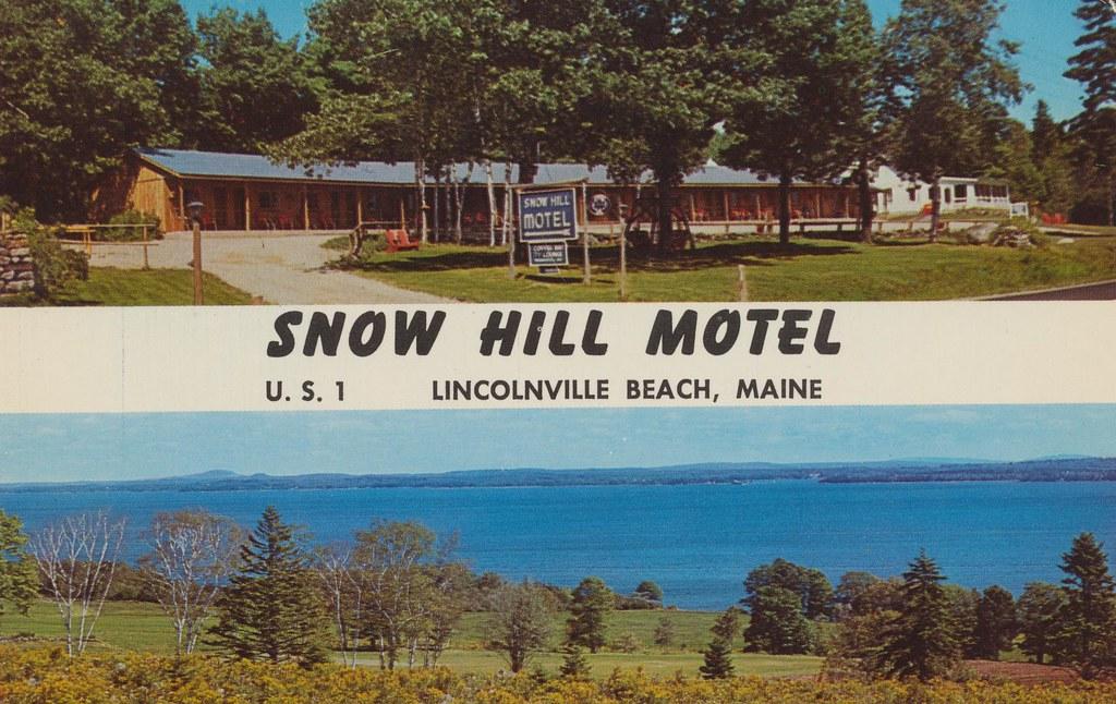Snow Hill Motel - Lincolnville Beach, Maine