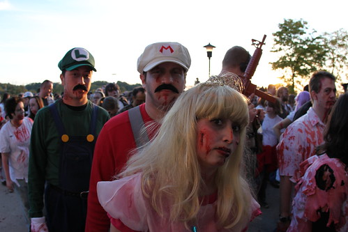 Zombie Fest 2009: Super Mario Bros zombie characters | by daveynin