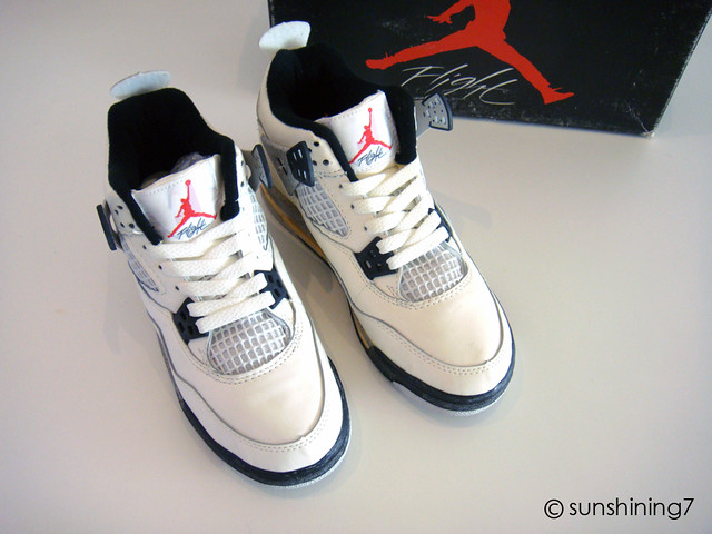 Jordan 4 White Cement Og air jordan 4 89 og