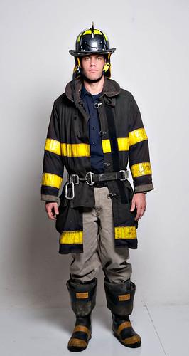 Me As Chicago Firefighter 3 Colin Davis Flickr