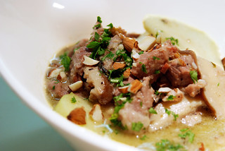 Braised Pork with Apples, Mushrooms, and Calvados | by houseboat eats