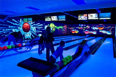 Bowling Alley At Center Parcs Sherwood Forest Family