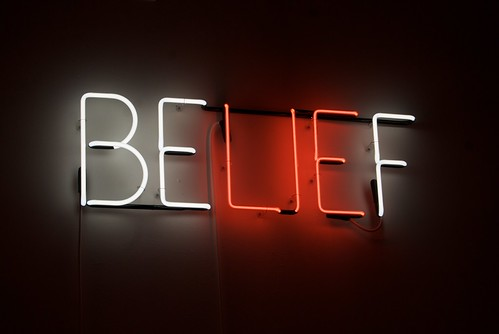 Belief - Neon sculpture by Joe Rees | by Steve Rhodes