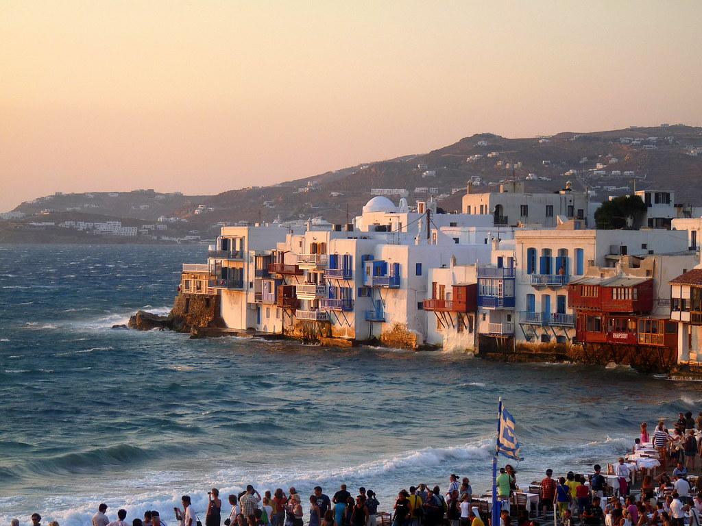 Resultado de imagen para atardecer en grecia