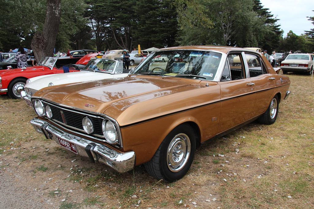 1968 Ford Falcon XT GT Sedan | GT Gold. The XT Falcon was ...