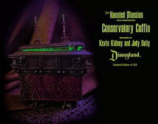 Haunted Mansion Conservatory Coffin | by Miehana