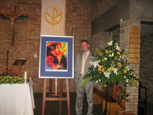 'St Thomas More'- Unveiled in Church, June 2009, by Stephen B Whatley | by Stephen B. Whatley