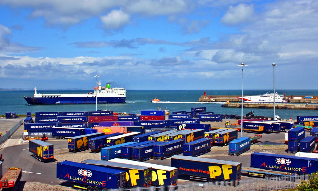 Rosslare harbour rosslare harbour in co wexford is one - Rosslare ferry port arrivals ...