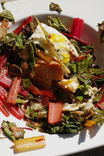 Chard and Egg Breakfast | by houseboat eats
