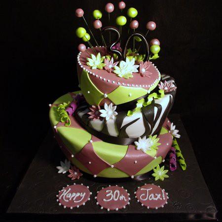 Mad Hatter Birthday Cakes Photos