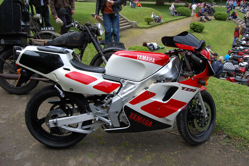 Yamaha Tzr 250 1986 96 Twin Cylinder Two Stroke Flickr