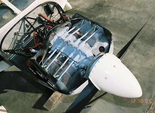 5 1966 Piper Cherokee 180 Pa 28 180 N9508j Engine Lycom