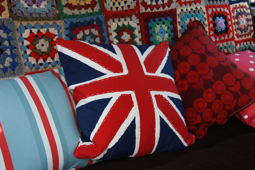 Ruby cushions | by snailtrail.co.uk vw camper sales
