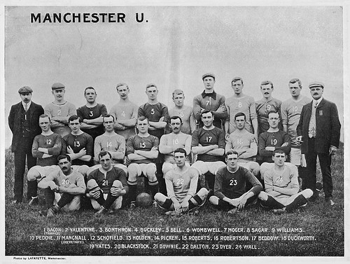 Manchester United 1906-07 team photograph | by decorativeed