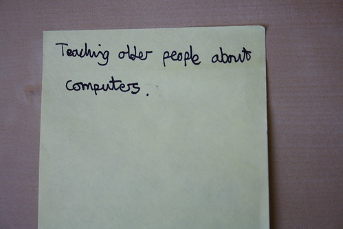 Teaching older people about computers | Social Innovation ...
