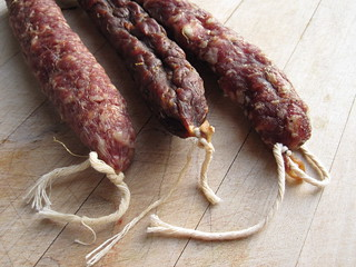 Salami, Chorizo, Saucisson Sec - The Delicious Daily 11.04.2009 | by TheDeliciousLife