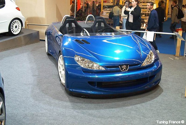 peugeot 206 cabriolet tuning | concessionaria fake | Flickr