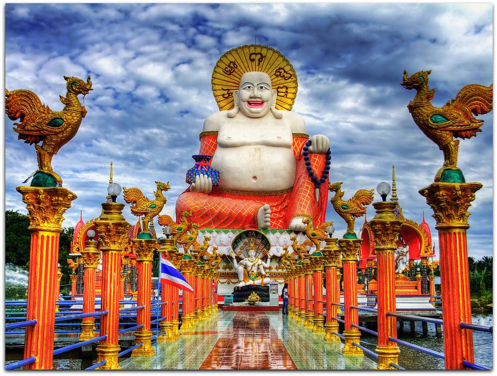 Smiling Buddha  Wat Plai Laem  (Koh) Samui Island  Flickr
