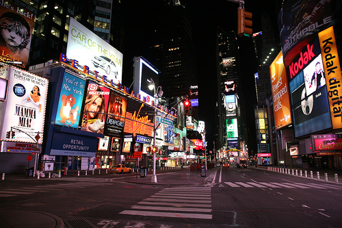 Image result for times square at night