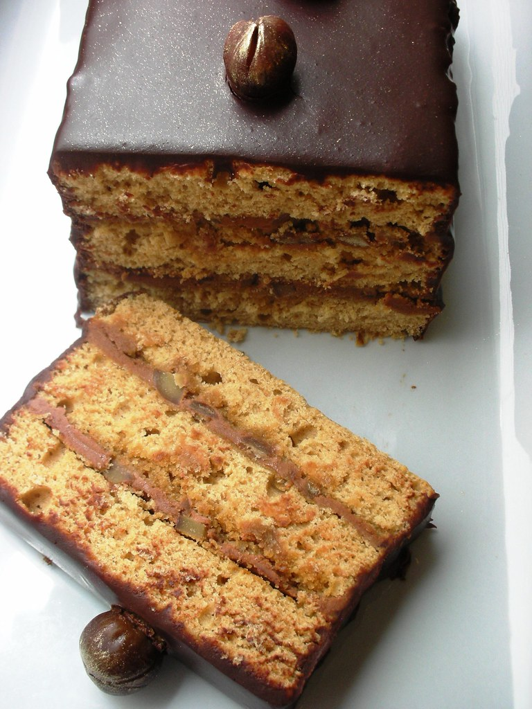 Chocolate Chestnut Cake Vegan