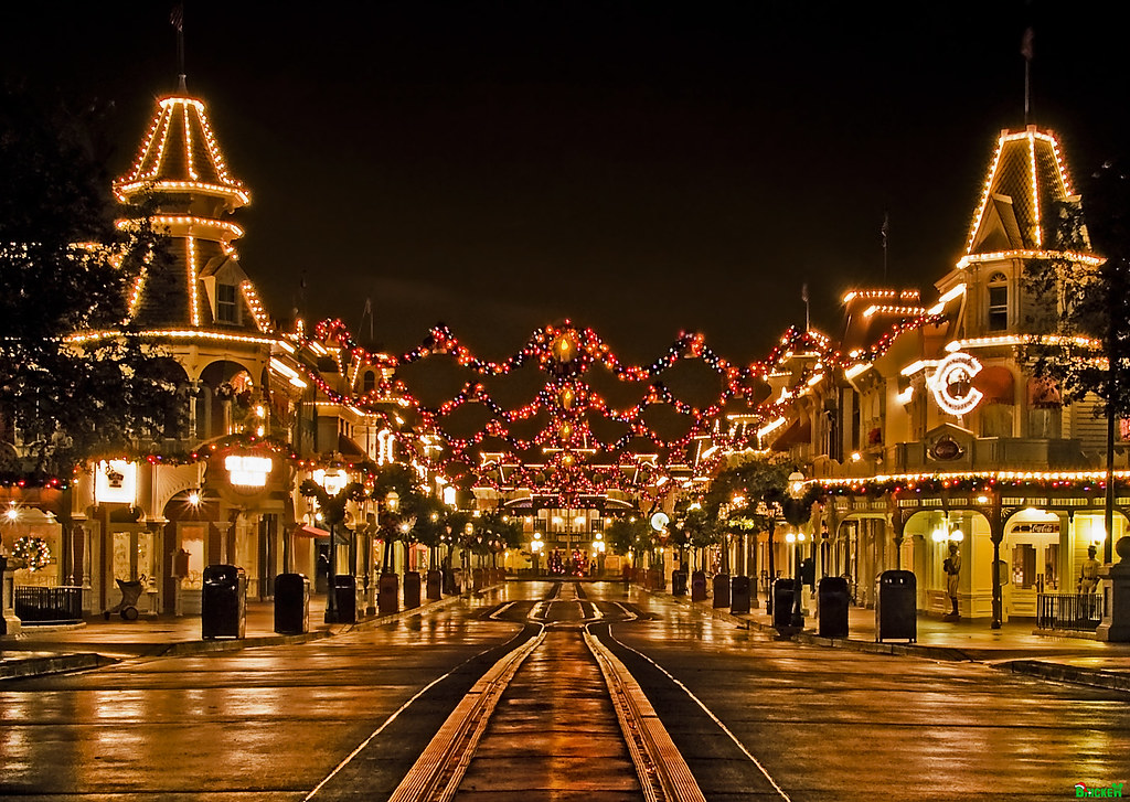 bricker a tranquil christmas on main street usa by tombricker