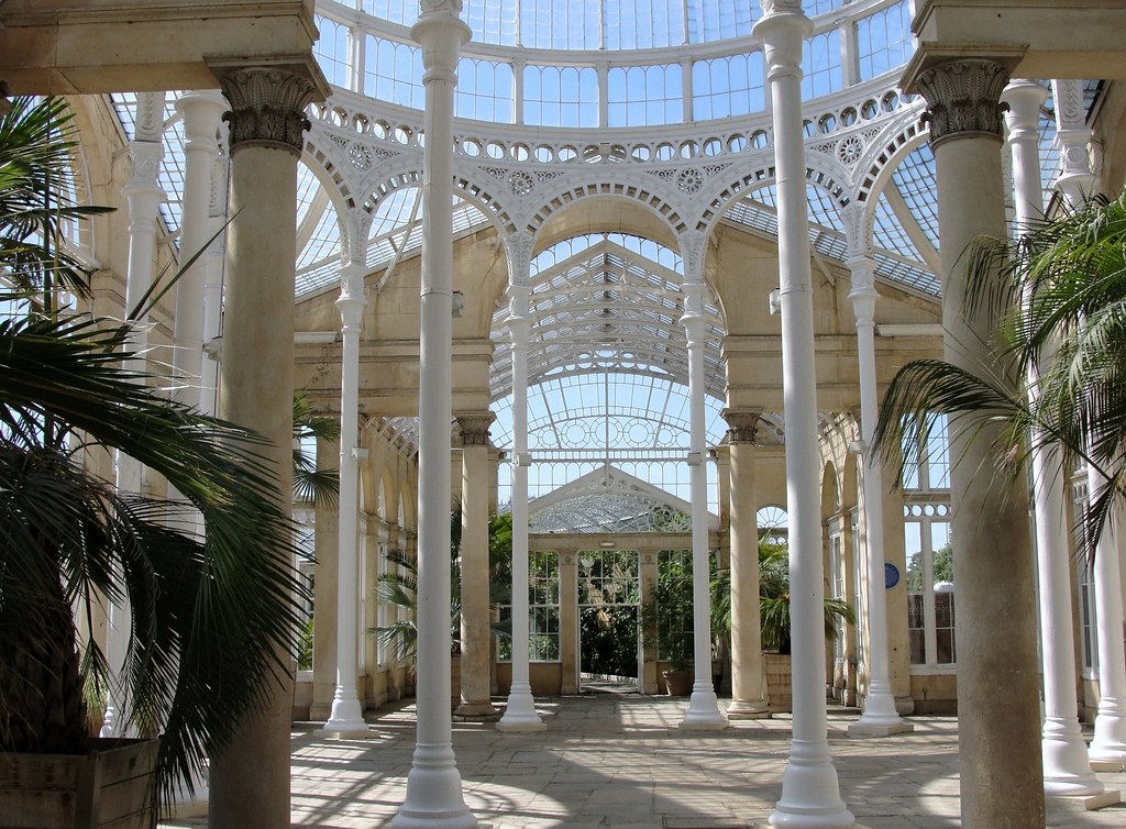 Inside Syon House Conservatory Maxwell Hamilton Flickr
