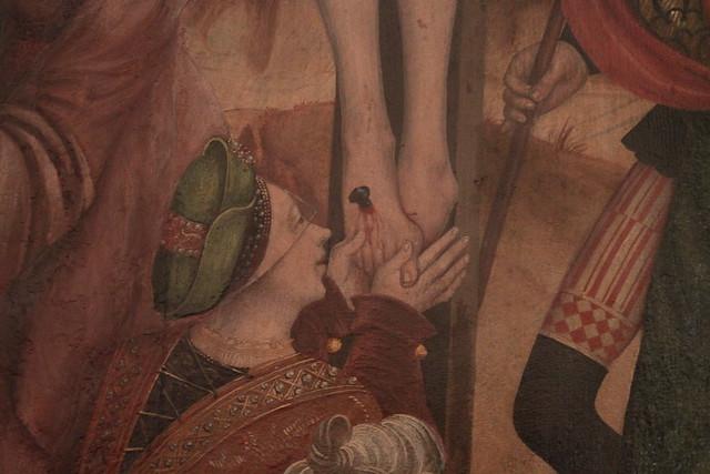 Kruisegingsaltaar, 1520-1525 (detail)...