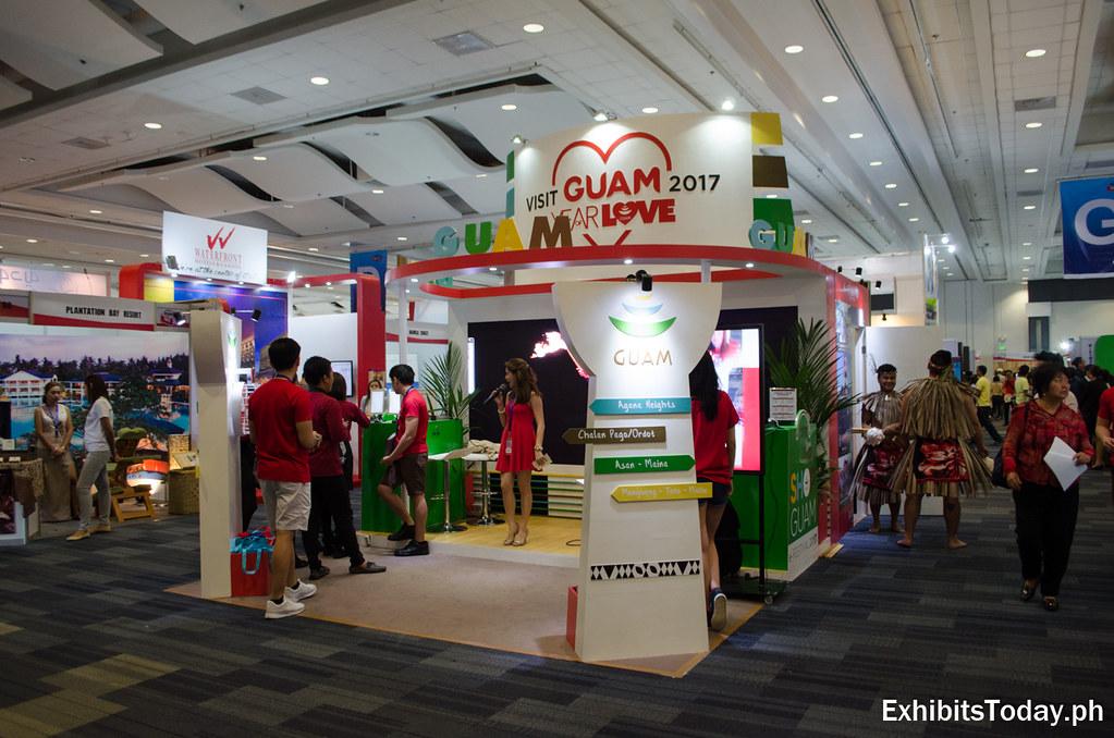 Guam Exhibition Stand