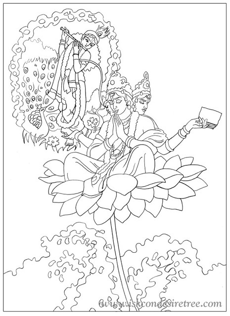 lord brahma coloring pages - photo#21