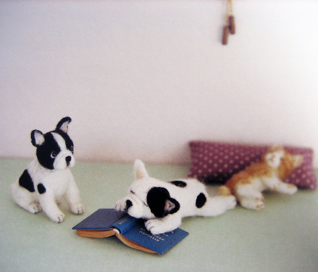9784277563185 Needlefelted Small Dogs French Bulldog Flickr