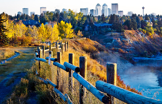 Calgary in Fall | View in LARGE Canon 50D EF 50 mm f1.4 ...